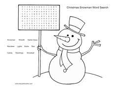Small Picture Christmas Crosswords For Kids 6 Easy Christmas Word Search