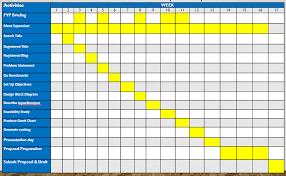 Fyp Plant Watering System Week 11 Produce Gantt Chart