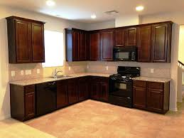 maple kitchen cabinets with black appliances. Blue Kitchen Cabinets With Black Appliances Maple