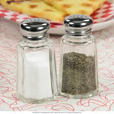 American Diner Kitchen Accessories Diner Salt And Pepper Shakers In Glass Vintage Kitchen Decor