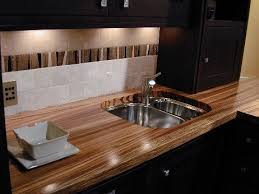 the marine finish the best in wood countertops