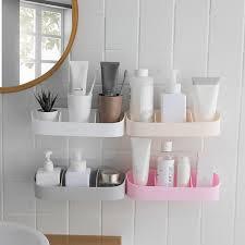 <b>Practical bathroom storage Plastic</b> Bathroom Corner Storage Rack ...