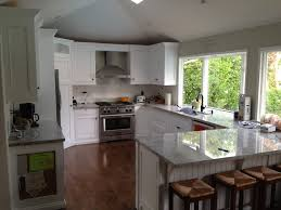 L Shaped Kitchen Remodel L Shaped Contemporary Kitchen An Excellent Home Design