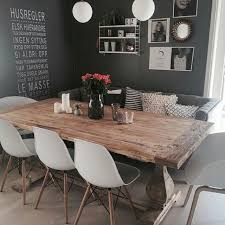 what about this stunning diningroom credit jillkri74 diningroom decor eames style dining chairsofa