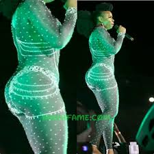 Image result for Yemi Alade On stage half naked