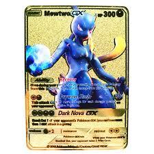 Báo giá 27 Phong Cách Mới Pokemon GX MEGA Kim Loại Vàng Card Siêu Trò Chơi  Bộ Sưu Tập Anime Thẻ Trò Chơi Đồ Chơi Cho Trẻ Em Món Quà Giáng Sinh