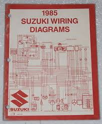 1985 suzuki motorcycle and atv electrical wiring diagrams manual 85 suzuki wiring diagrams motorcycle image is loading 1985 suzuki motorcycle and atv electrical wiring diagrams