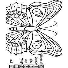 Kleurplaat Mandala Vlinder Eenvoudig Grosse 51 41 Kb Werkbladen En
