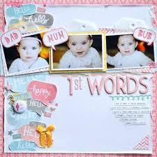 Baby Girl Scrapbook Ideas Photo Diy Stevesroofing