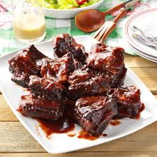 pressure cooker barbecued beef ribs