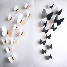 bathroom wall decorating ideas. 3D Butterfly Bathroom Wall Decor Ideas Decorating