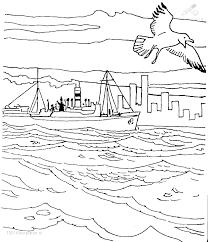 Kleurplaat Sinterklaas Stoomboot Stoomboot Onderweg