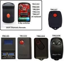 ahi trv 300 keyring garage door remote loading zoom tiltamatic 303 mhz 8 dipswitch garage door remote control