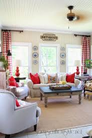 Red And White Living Room Decorating 25 Best Ideas About Red Curtains On Pinterest Red Accent