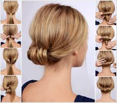 Self Hair Style chic low rolled updo hairstyle pictures photos and images for 8588 by wearticles.com