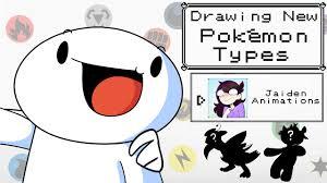 Drawing New Pokemon Types W Jaiden Animations