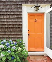 Orange front door Paint Orange Feng Shui Front Door Color Know Feng Shui Feng Shui Front Door Colors To Admire And Learn From