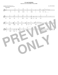 music notes in words john hodge if i had words sheet music notes chords download printable easy piano sku 195767