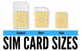 Sim Size Chart Which Sim Card Size Do I Order When I Switch Carriers