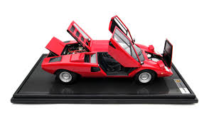 Lamborghini Countach LP400 (1974) Scale Model Cars