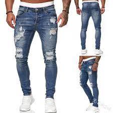 jeans rotos para hombre 2021
