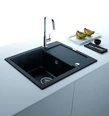 Black Kitchen Sinks Faucets Accessories Modern Kitchens 1 Sink