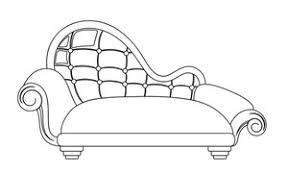 fancy couch drawing. Plain Fancy Subscription Library Modern Sofa Vector Shape Throughout Fancy Couch Drawing 7