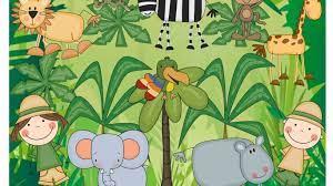 Jungle Theme Wallpaper for Kids ...