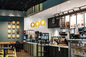 I was thrilled last night when i found out caribou coffee had partnered with this location as a northerner who used to manage a caribou coffee. Einstein Bagels Caribou Coffee Town Center Of Virginia Beach