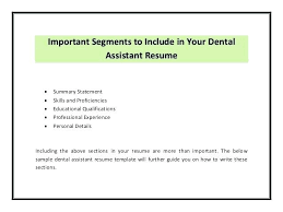 resumes for dental assistant dental assistant resume skills maths equinetherapies co