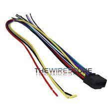 kenwood wiring harness ebay Kenwood Radio Wiring Colors at Kenwood Kac 720 Wiring Diagram
