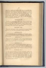 historical chronology the original thirteenth article of amendment amendments vi xii