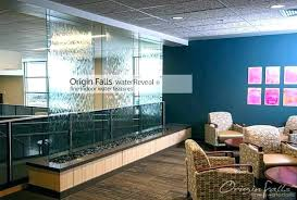 indoor water feature wall awesome fountain custom fountains and ideas mounted glass