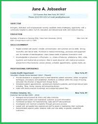 Graduate Resume Objective Best Of Resume Objective Format Example Of Resumes Resume Examples Skills