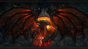 Dragon Fire red alas dragon de fuego ...