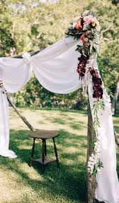 Outdoor wedding furniture Cross Back Chair Country Living Magazine 35 Outdoor Wedding Ideas Decorations For Fun Outside Spring Wedding