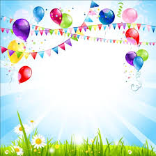 Free Birthday Backgrounds Bright Birthday Background Design Vector 09 Free Download