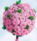 Как сделать шар из роз