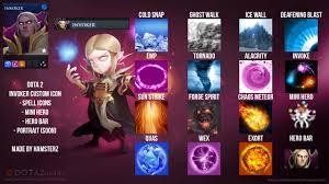 invoker custom icon dota 2 guis icons gamebanana