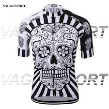 White skull sublimation printing <b>cycling jersey</b> wear/best <b>2017 pro</b> ...