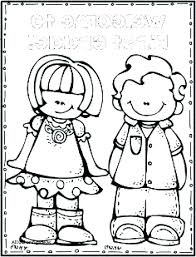welcome back to school coloring pages boy student in building print