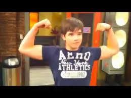 nathan kress flexing biceps. nathan kress flexing biceps