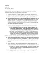 ap lit the death of a toad essay scoring kate brady ap  3 pages ap lit essential literary terms pages 162 165 1 4
