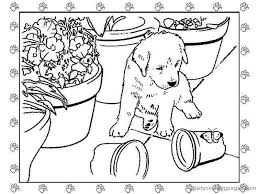 Small Picture Adult Puppy Coloring Pages Puppy Coloring Pages Print Puppy