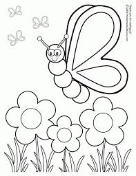 Garden Coloring Pages For Preschool At Getdrawingscom Free For