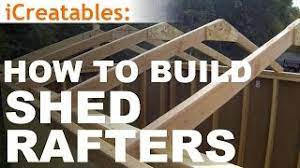 building roof rafters