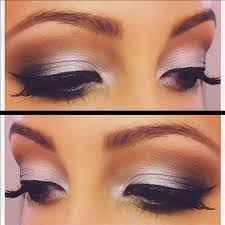 sliver smoky eyeshadow