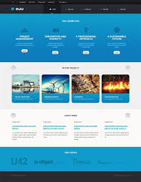 Bootstrap Website Templates Custom Cyan And White Civil Engineering Bootstrap Website Template 28uoi28rJi