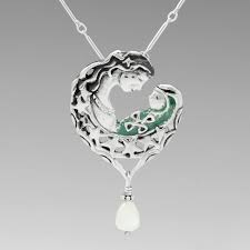 madre necklace mother s day pendant mother of pearl patina