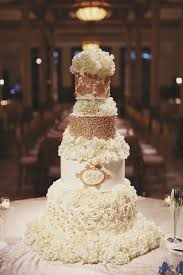 9 Elegant Black White And Gold Cakes Photo Black And Gold Wedding